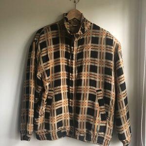 Vintage '90's Silk Bomber Jacket